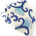 Bone China Necktie- Hand Painted