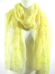 Golden Yellow Chiffon scarf