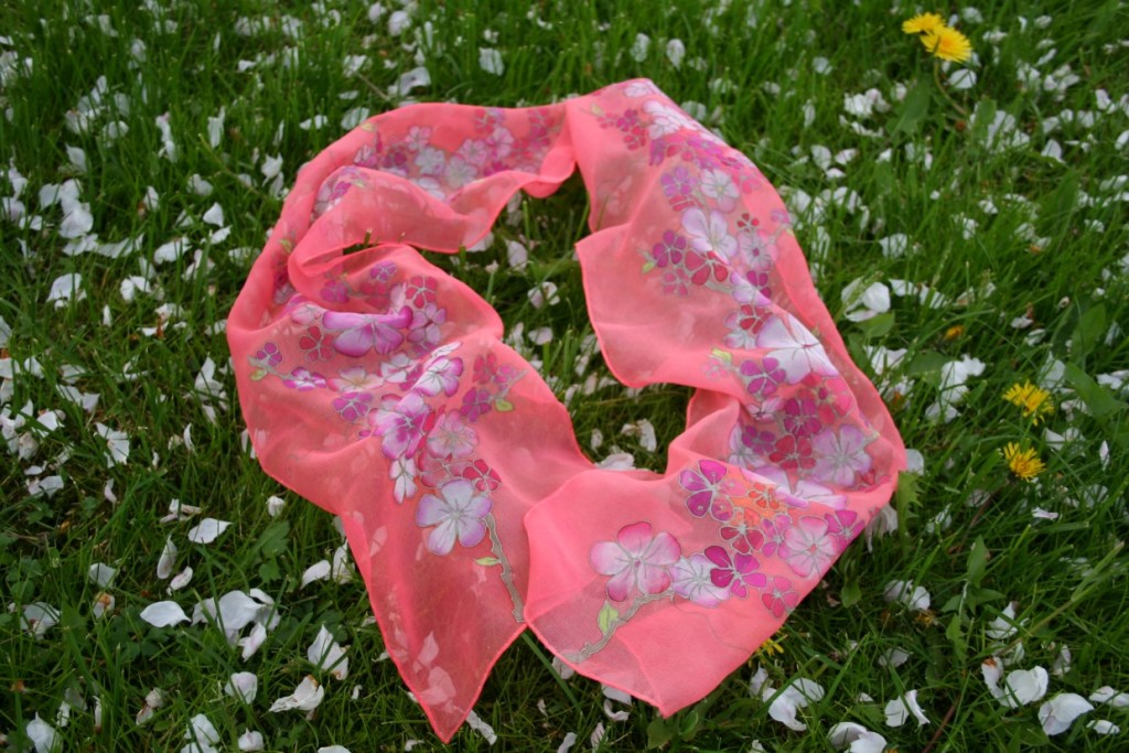 Cherry Blossoms scarf (17)
