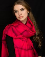 Red Silk Wrap