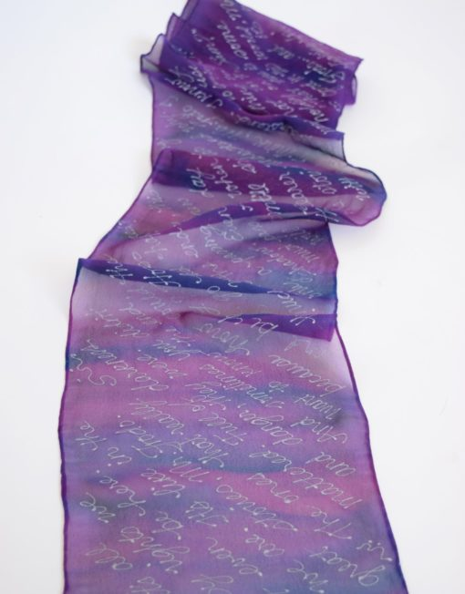 LOTR book scarf